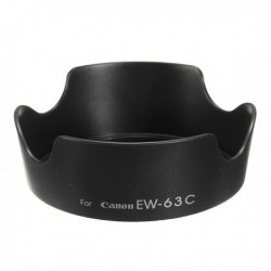 Camera Lens Hood EW-63C For Canon EF-S 18-55mm F/3.5-5.6 IS STM