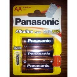 Panasonic Alkaline AA LR6 1,5V