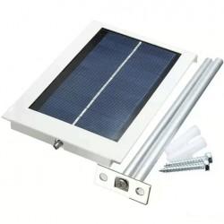 Ultra-thin Waterproof 12LED Solar Sensor Wall Street Light Garden Lamp