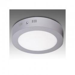 Luz de Teto LED Circular Cromado Ø225Mm 18W 1440Lm 30.000H